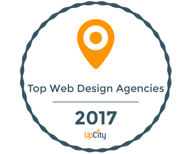 UpCity Top Web Design Agency Houston Award