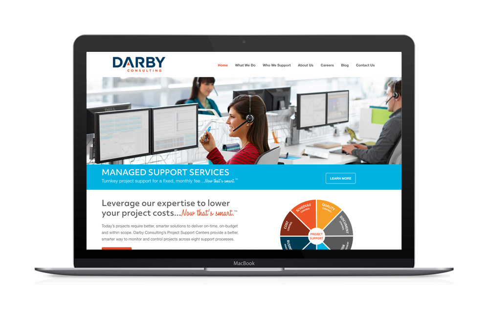 Darby Consulting Website Design