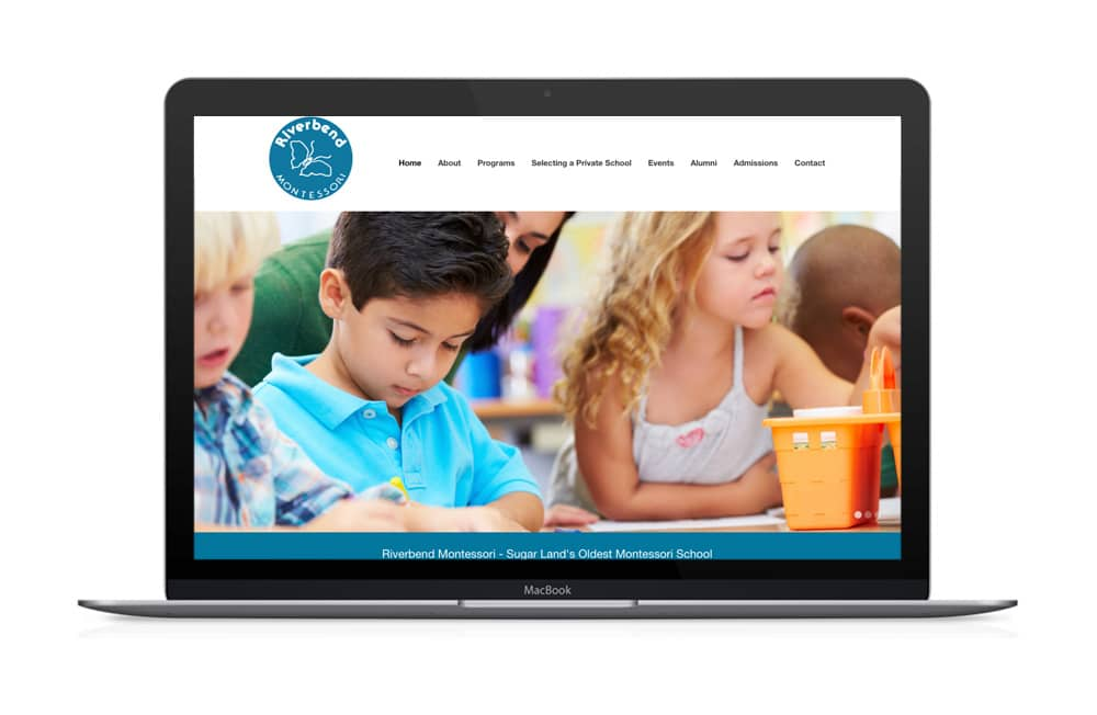 Riverbend Montessori Website Design