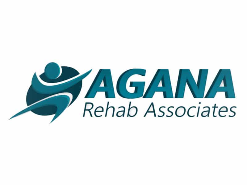 Agana Rehab Associates Logo Design