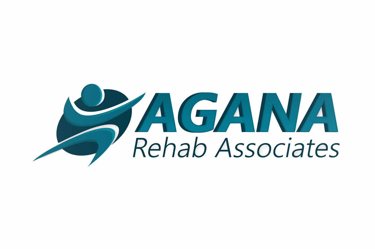 agana-rehab-associates-logo-design