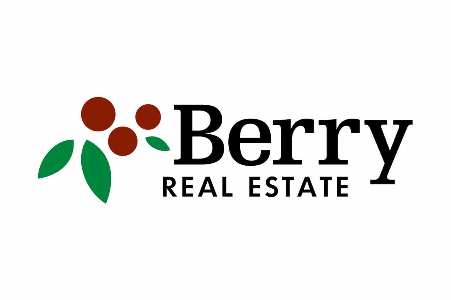 berry-real-estate-logo-design