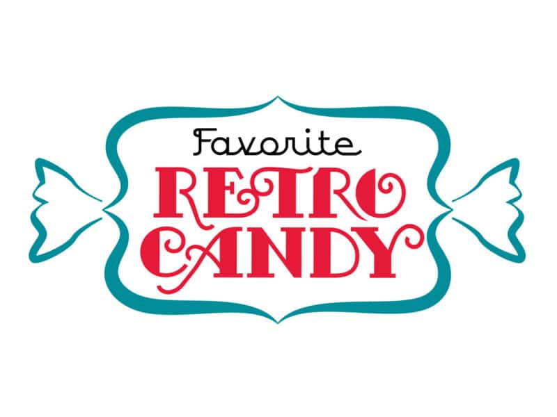 Favorite Retro Candy Logo Design