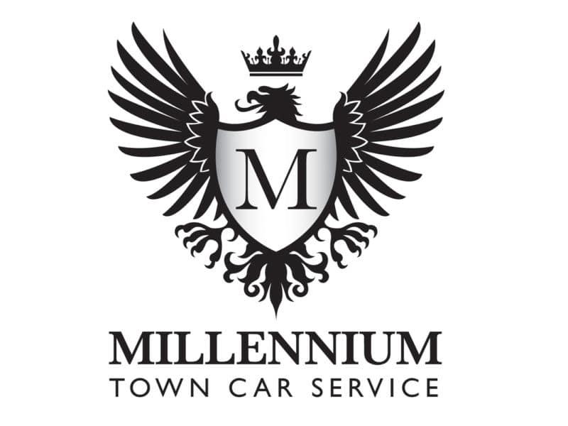 Millennium Town Car Service Logo Design