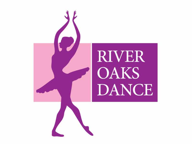 River Oaks Dance Logo Design