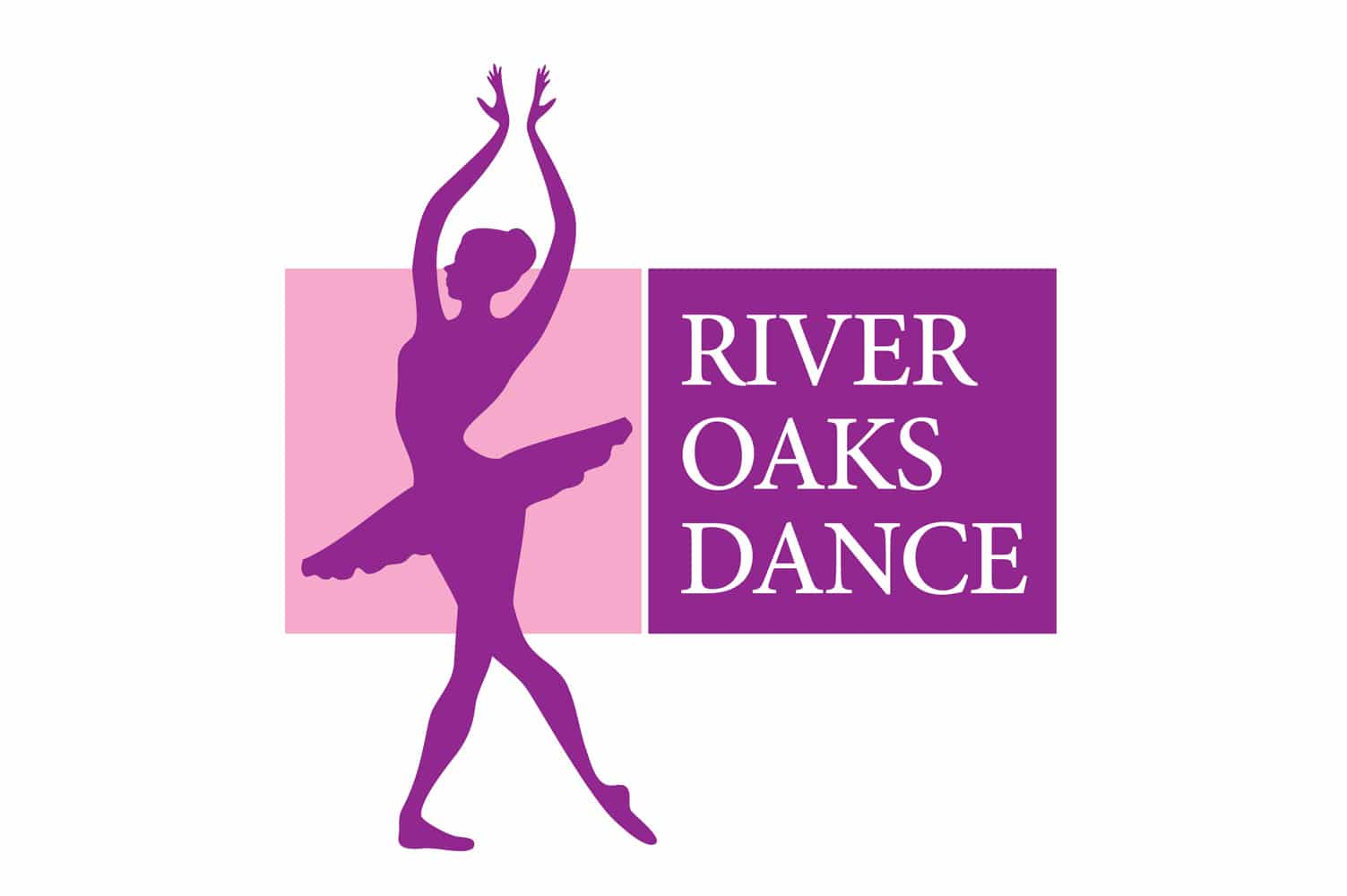 river-oaks-dance-logo-design