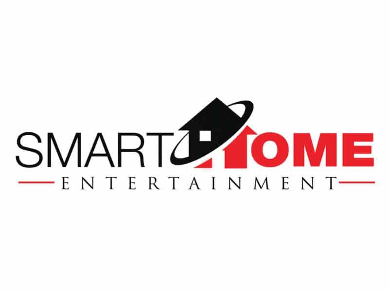 Smart Home Entertainment Logo Design