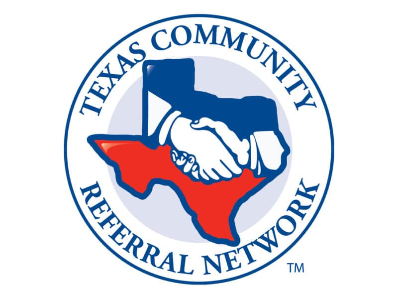 Texas Community Referral Network Logo Design