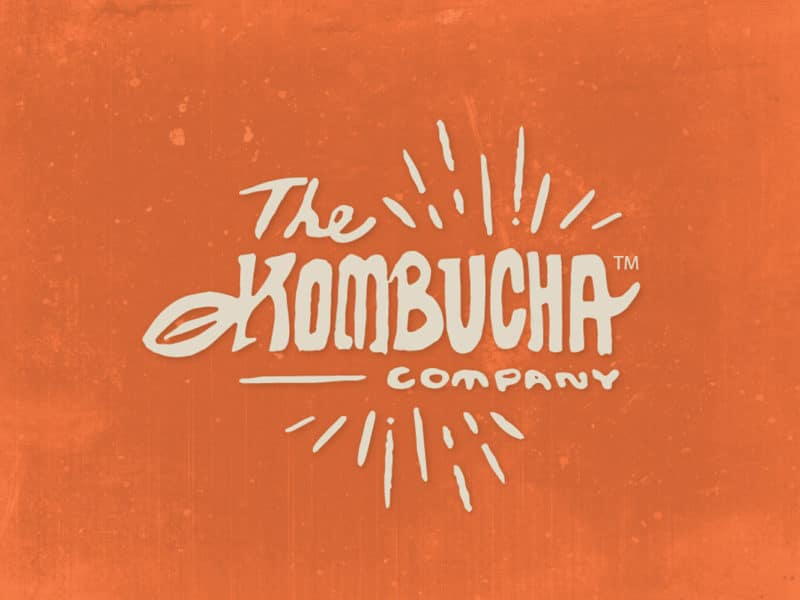 The Kombucha Company Logo Design