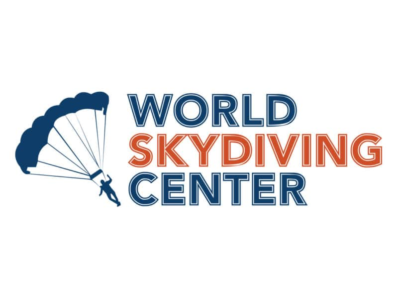 World Skydiving Center Logo Design