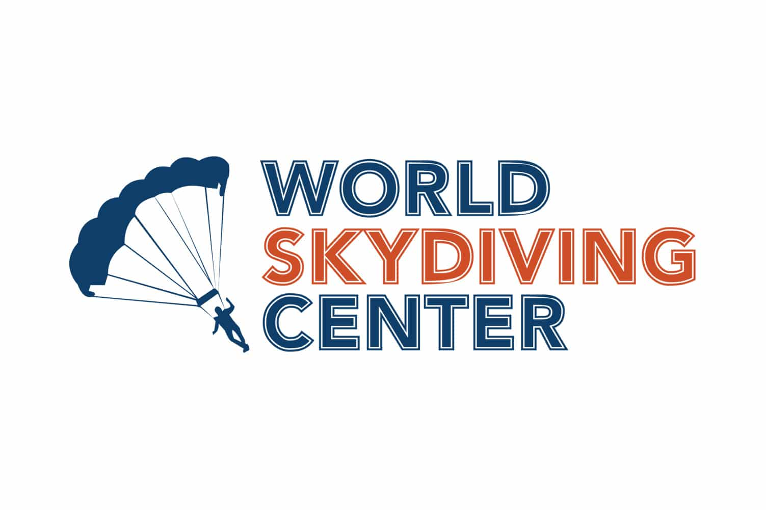 world-skydiving-center-logo-design