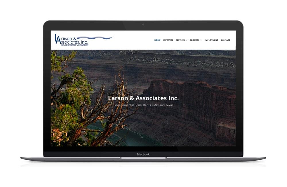 Larson & Associates Website Redesign