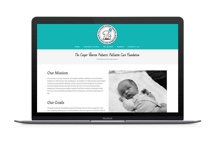 The Cooper Warren Pediatric Palliative Care Foundation