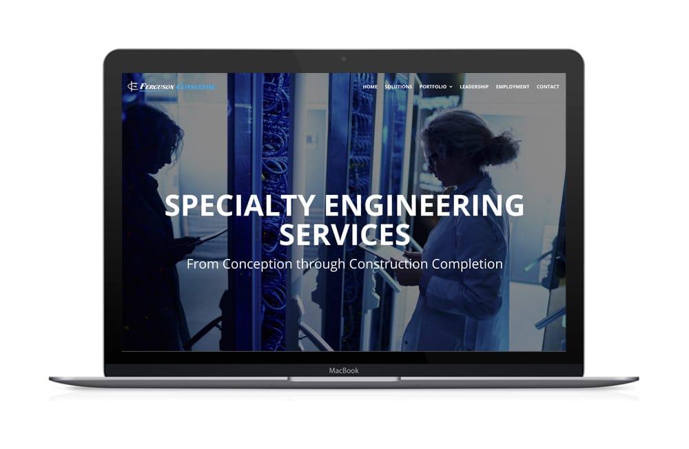 Ferguson Consulting Website Design