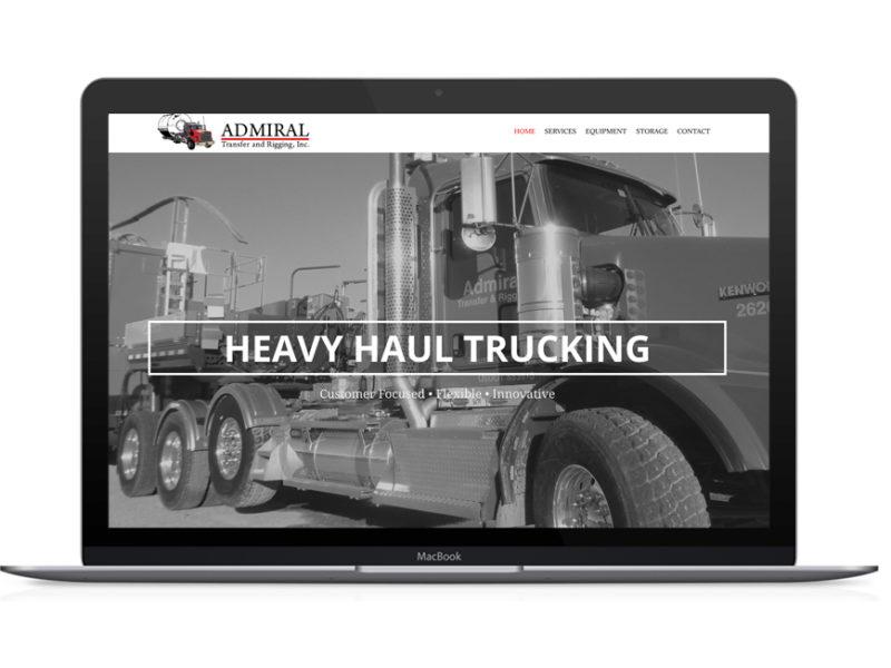 Admiral Transfer Website Design