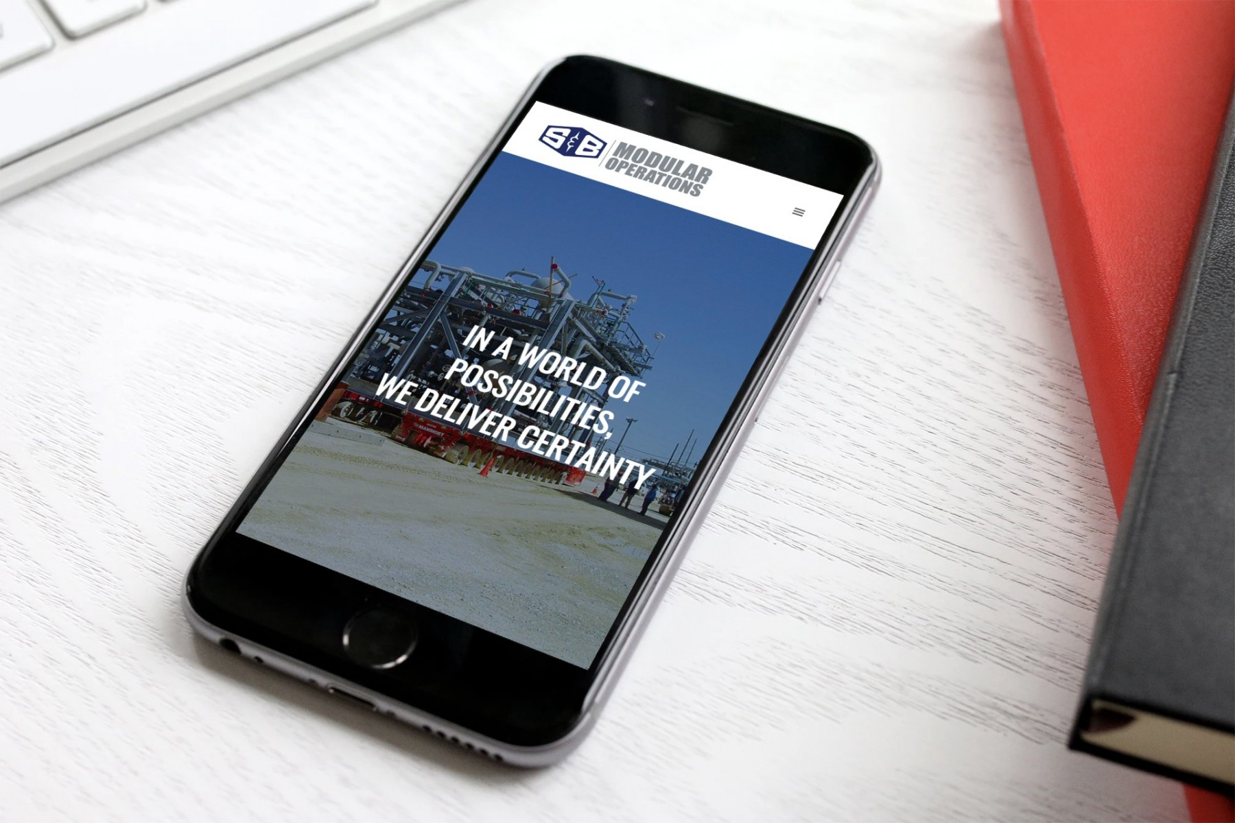 S&B Mod Ops Web Design Mobile