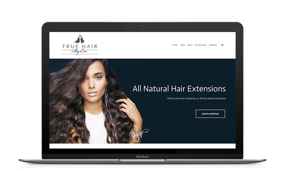 True Hair by Ese Web Design