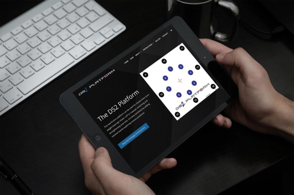 DS2 Mobile Website Design