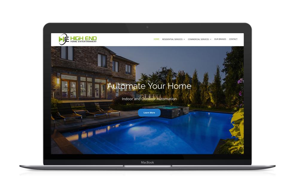 Responsive WordPress Website Designed in Houston