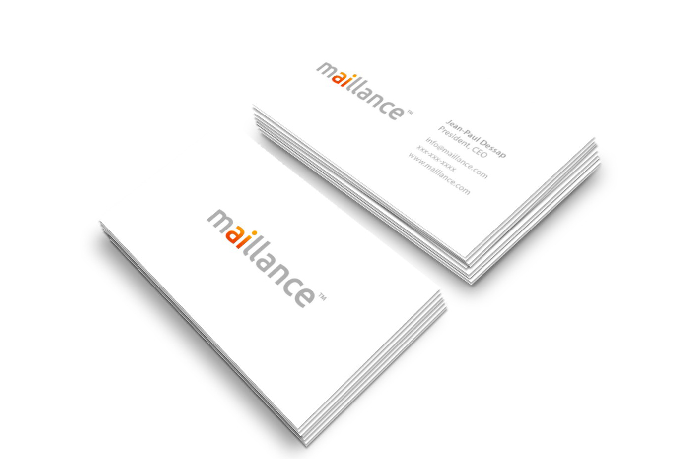 Maillance Business Cards