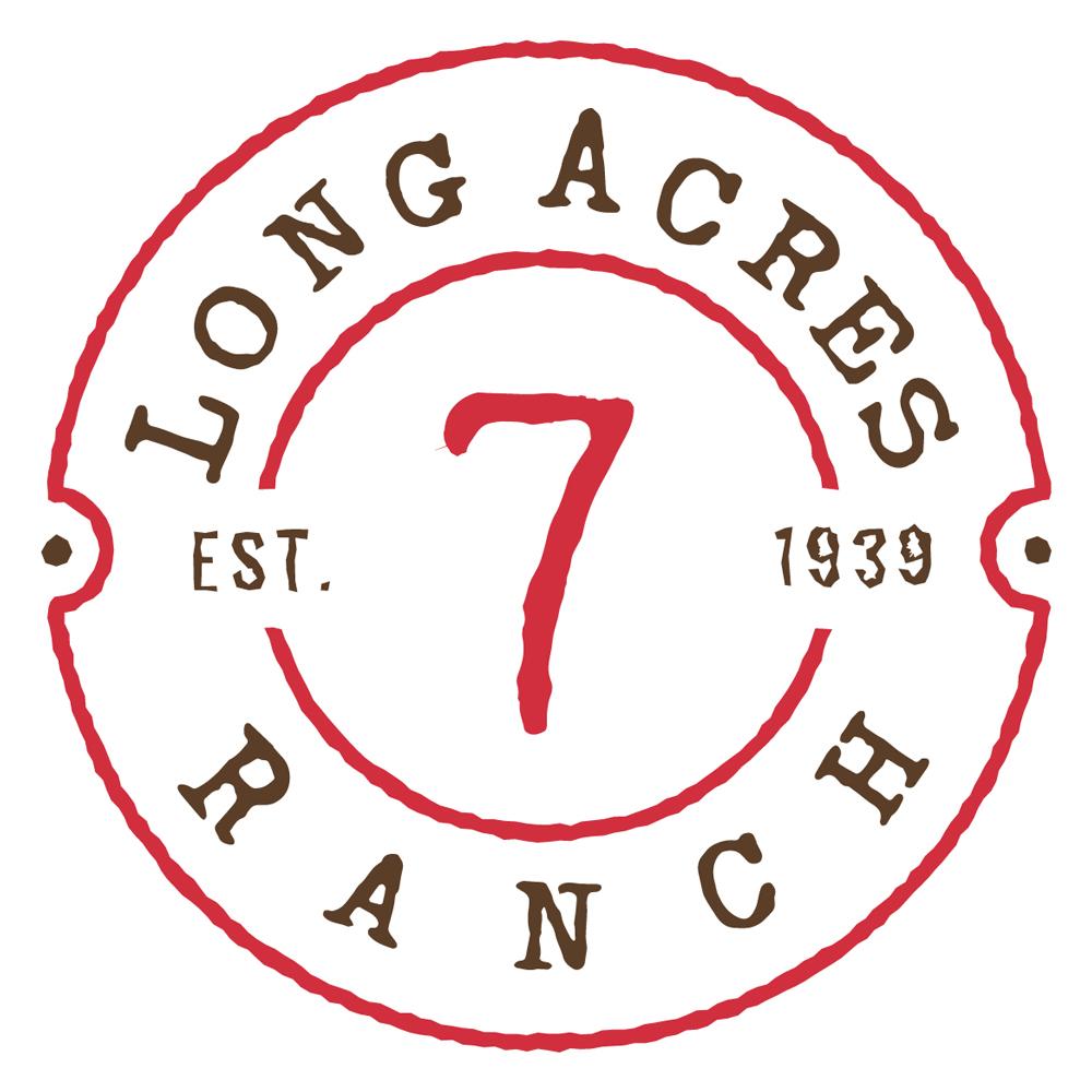 Long Acres Ranch Logo Design - Light