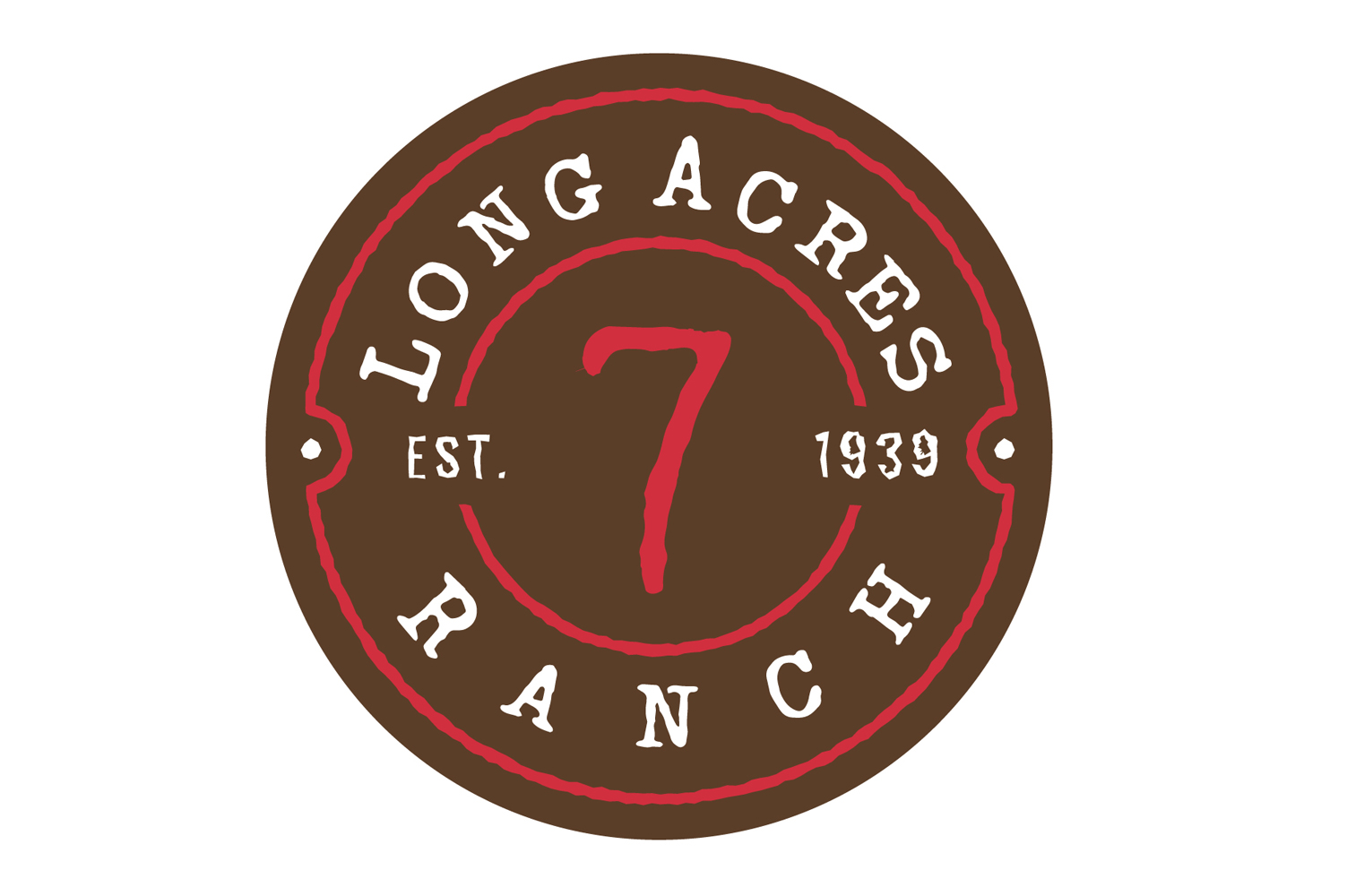 Long Acres Ranch Logo Design
