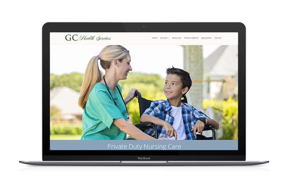 GC Health Services Website Redesign