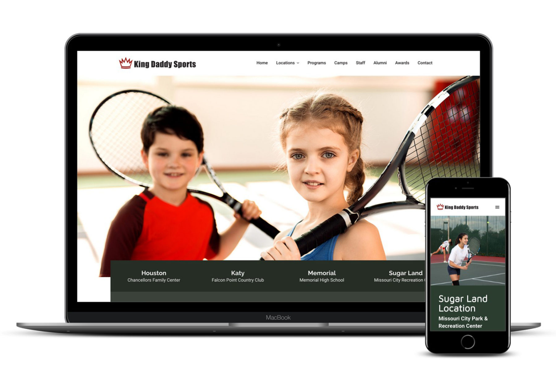King Daddy Sports Website Design