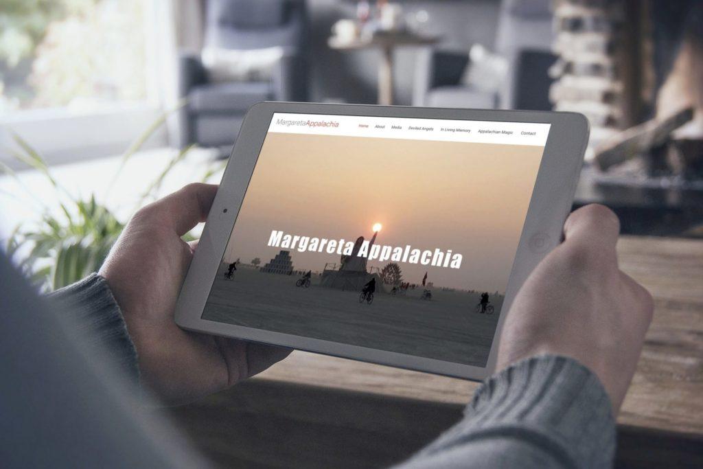 Margareta Appalachia Website Design