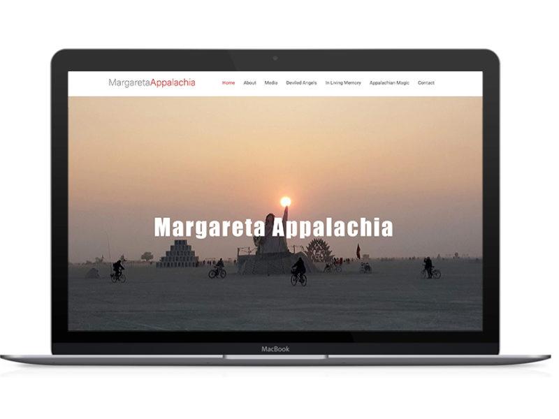 Margareta Appalachia Web Design