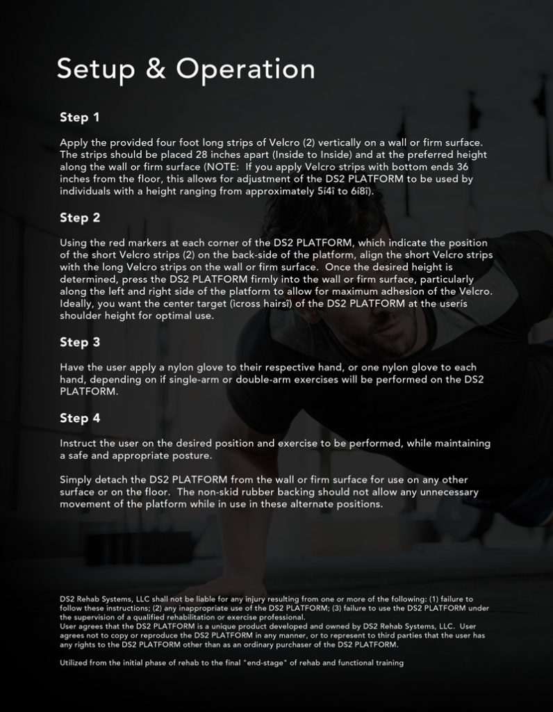 DS2 Instruction Manual Design