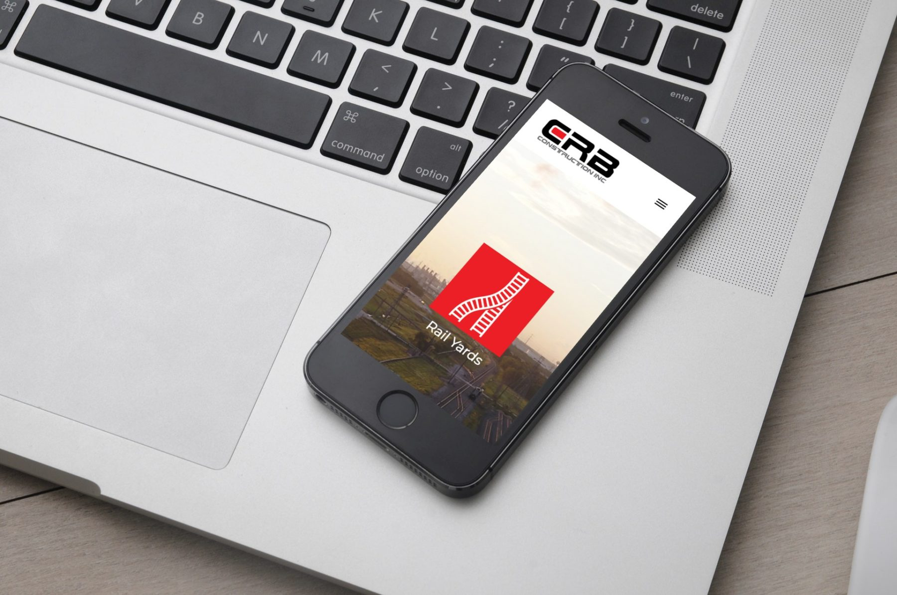 CRB Construction Mobile Website Design in Houston