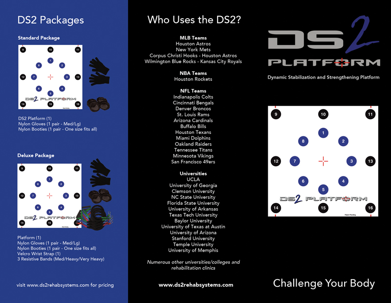 DS2 Brochure Design Houston
