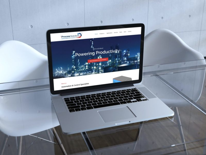 Process Solutions Website Design
