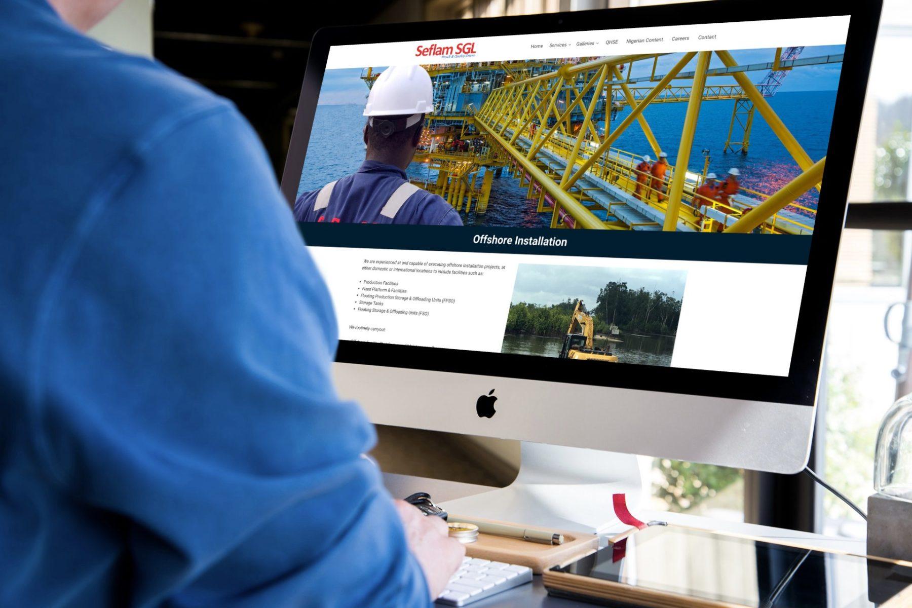 Oil & Gas Web Design Houston
