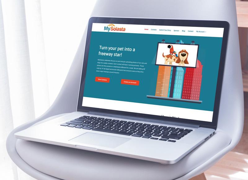 MySolasta Website Design in Houston
