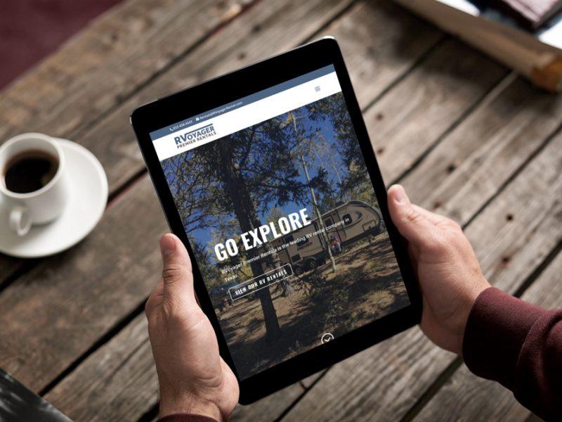 RVoyager Website Redesign