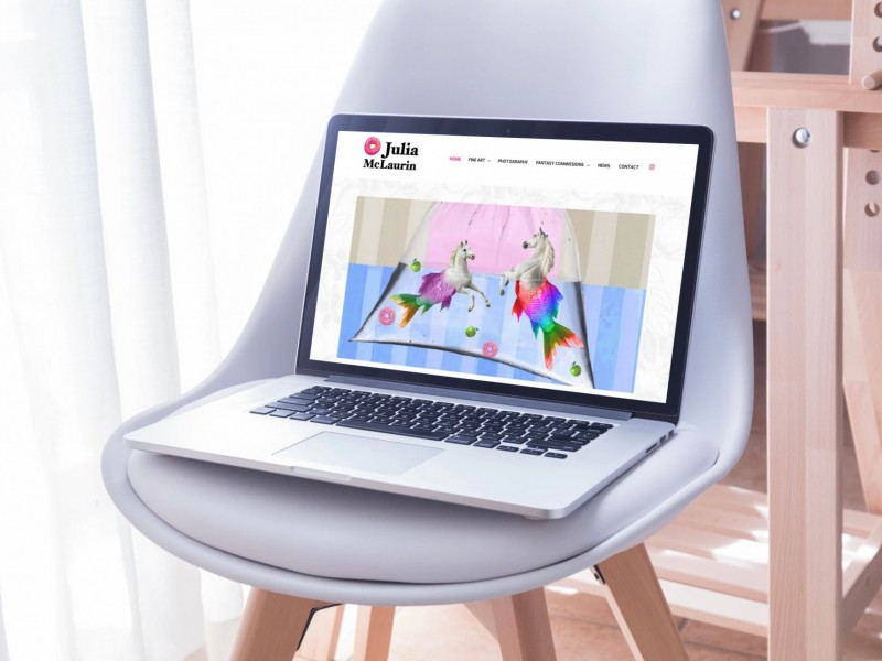 Julia McLaurin Web Design