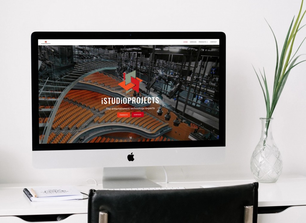 iStudio Projects Houston Website Design