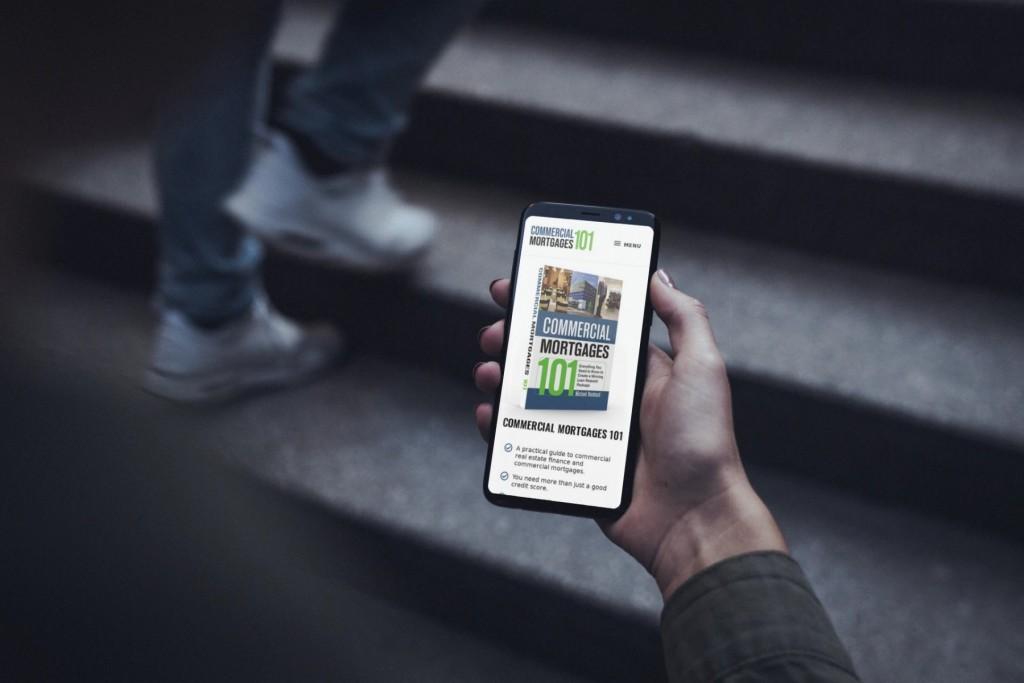 Commercial Mortgages 101 Website Design