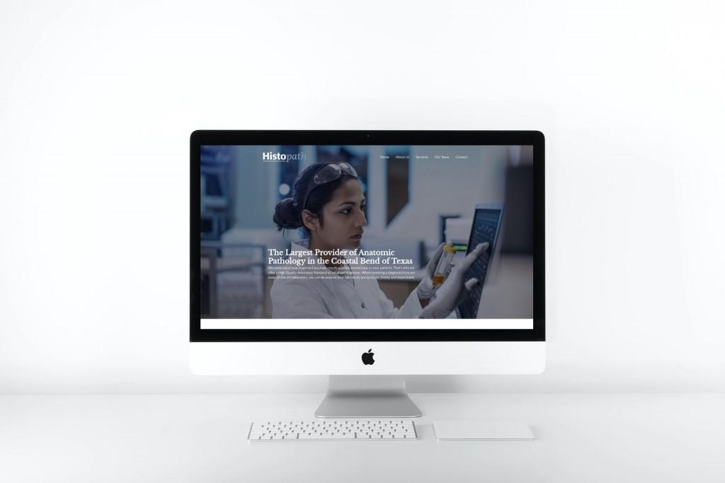 Histopath Website Design - WordPress